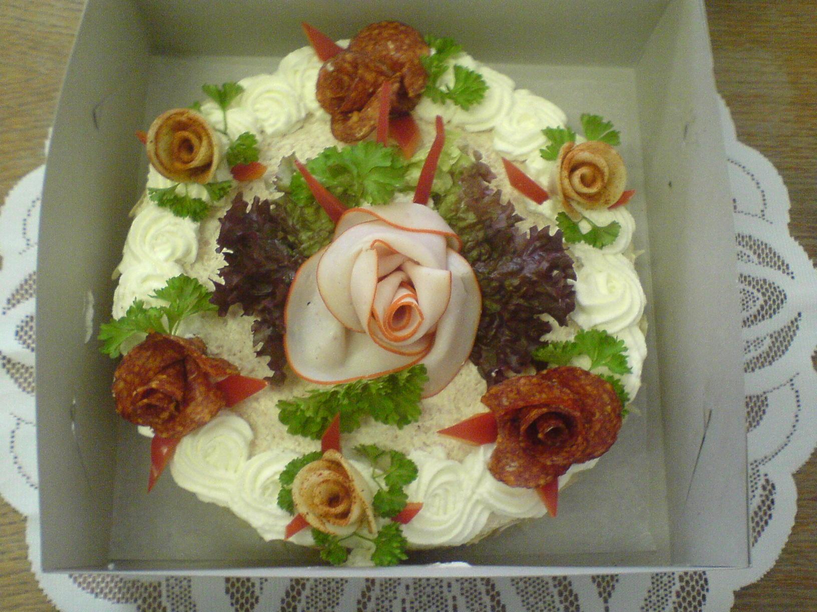 chlebový dort